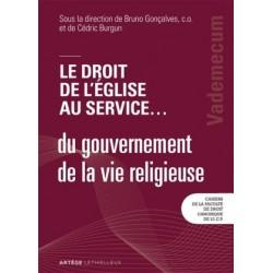Le droit de l'Église au service ... du gouvernement de la vie religieuse