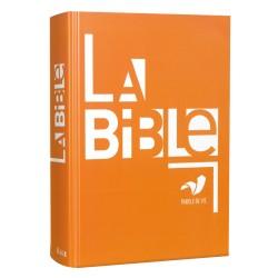 La Bible Parole de Vie - Format agrandi - Sans les livres deutérocanoniques (couverture orange)
