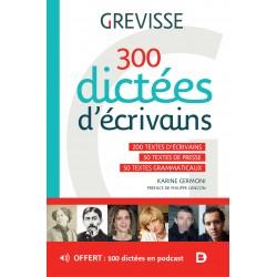 300 dictées d'écrivains