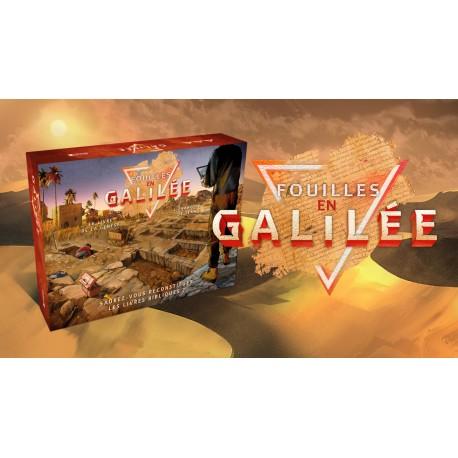 Fouilles en Galilée - Jeu de société biblique