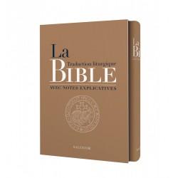 La Bible, traduction liturgique avec notes explicatives (compacte - coffret cadeau tranche dorée)