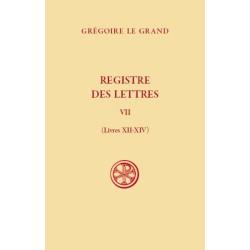 Registre des Lettres, t. VII, Livres XII-XIV