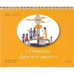 """Viens, Suis-Moi - 2e année """"Demeurez en mon amour"""" - Enfants - Livre oratoire jaune"""