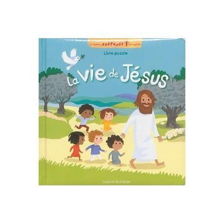 La vie de Jésus (livre puzzle)