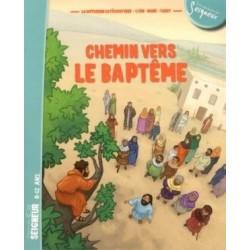 Chemin vers le baptême - 8/12 ans (document enfant) - pack 10 ex