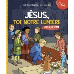 Jésus, toi notre lumière 7-8 ans (module 4) pack 10 ex