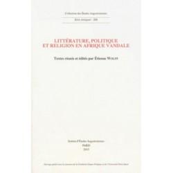 Littérature, politique et religion en Afrique vandale