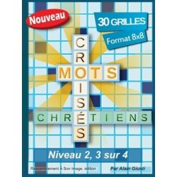 Mots croisés chrétiens (niveau 2, 3 sur 4) - Pack 10 ex.