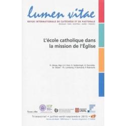 L'école catholique dans la mission de l'Eglise