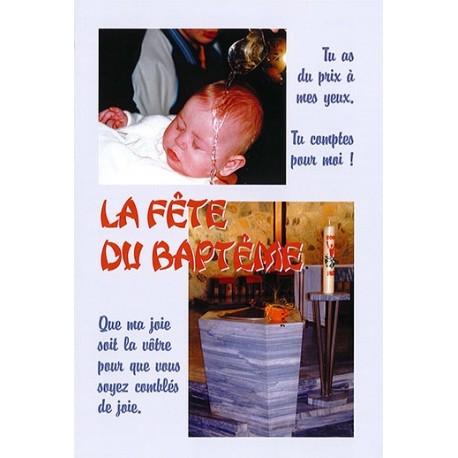 La fête du baptême 5ème édition - Pack de 10 livrets