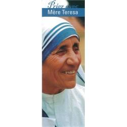 Signet Prier avec Mère Teresa - Lot de 50