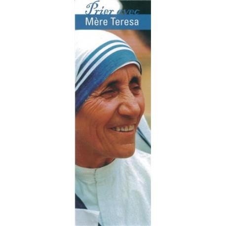 Signet Prier avec Mère Teresa - Lot de 10