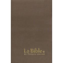 La Bible en français courant - Gros caractères - Sans les livres deutérocanoniques