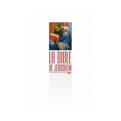 Bible de Jérusalem 10x16 brochée